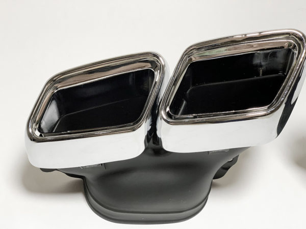 Насадки на глушители Mercedes w205