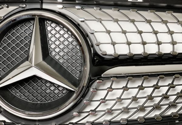Решетка радиатора Mercedes Benz diamond
