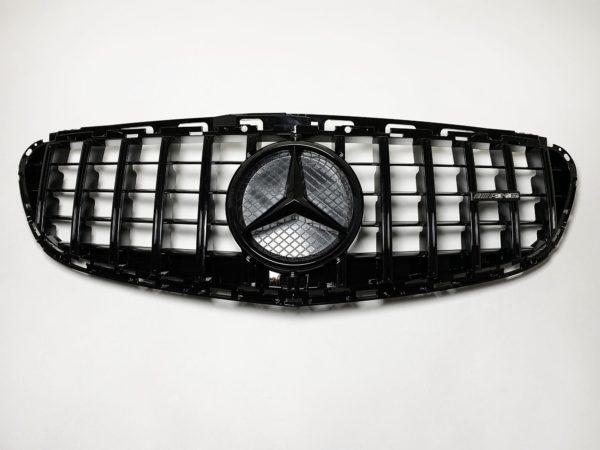 Решетка радиатора Mercedes Benz E class W212 GT 2013-2016