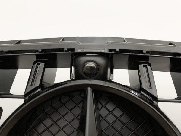 Решетка радиатора mercedes w213 GT черная